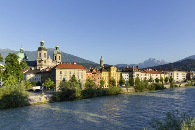 Innsbruck, Austria - Innsbruck on the River Inn © Innsbruck Tourismus, Photographer Mario Webhofer
